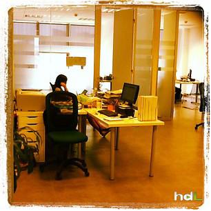 Hdl nuestra oficina sevilla compartimos una luz con for Oficina de extranjeria sevilla