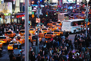 Taxis in Times Square | by WorldofArun