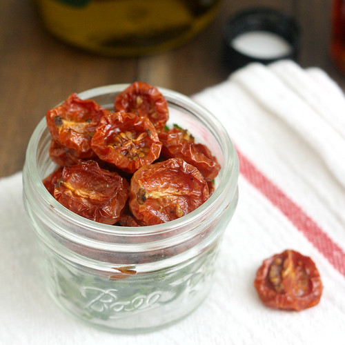 Maple Syrup-Roasted Tomatoes | by Tracey's Culinary Adventures