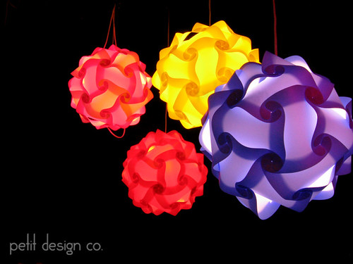 Pendant Lamps | by Petit Design Co.