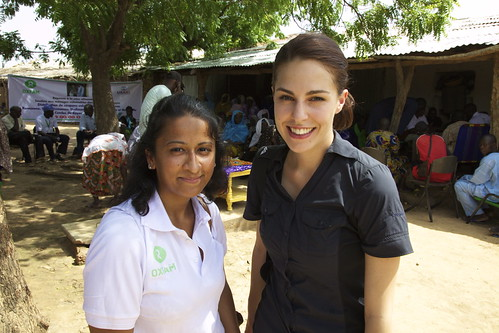 Freelance journalist Kim Vinnell is visiting Oxfam programmes in Mali, West Africa | by Oxfam NZ