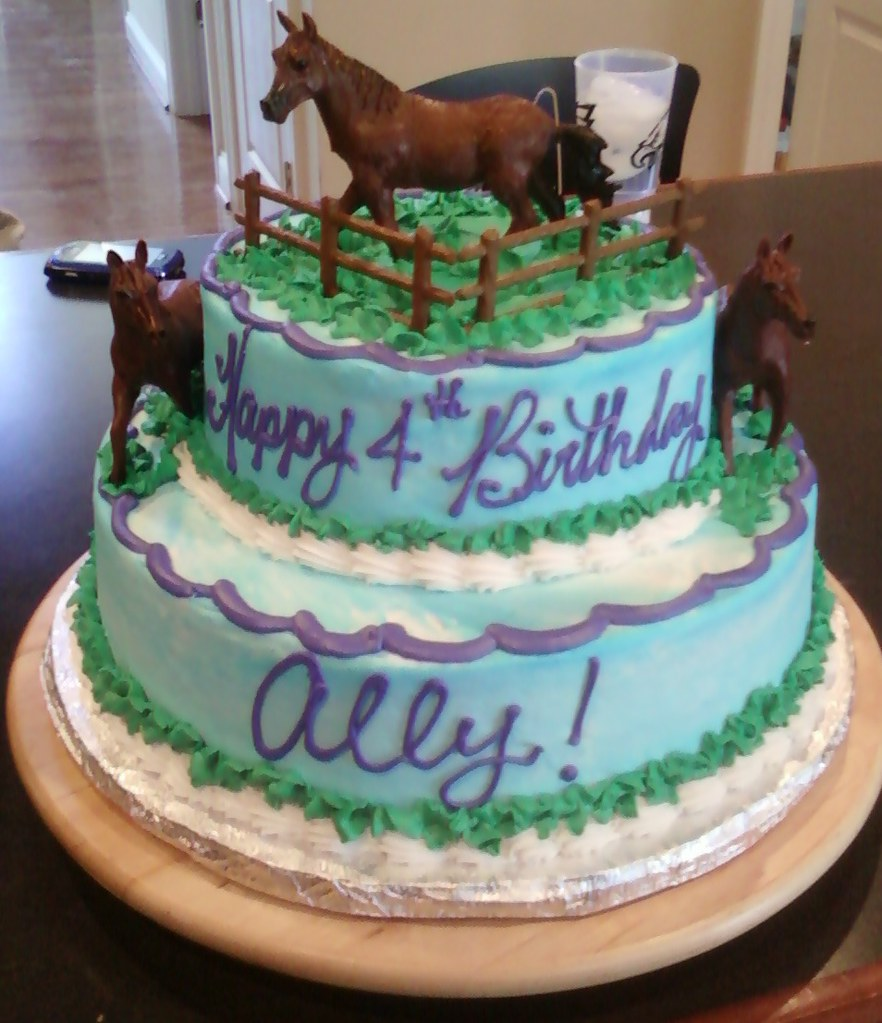 Horse Cake Horse Theme Birthday Cake Sarapweav Flickr