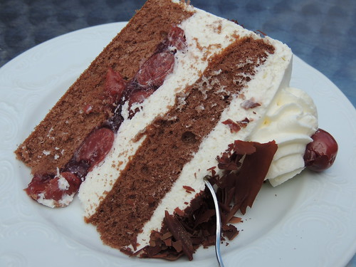 Black White Cake Recipe