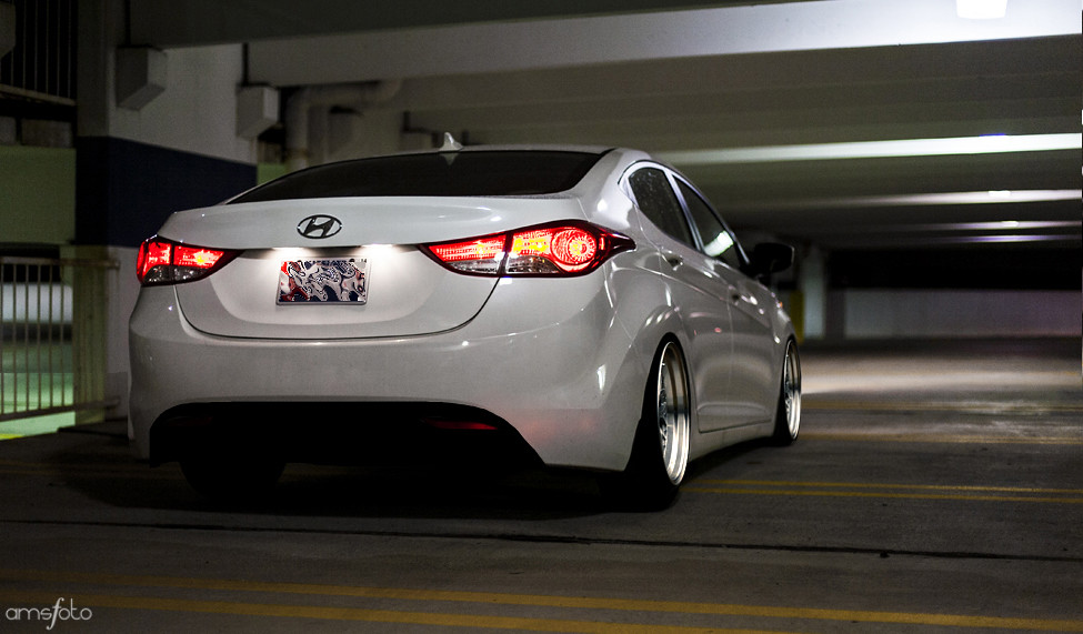 Slammed Elantra A Little Concept Chop Anthony Stone