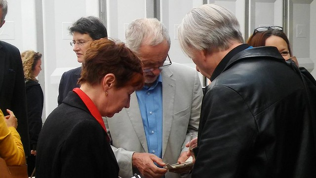 Edinburgh International Book Festival 2016 - Mary & Bryan Talbot with Jeremy Corbyn
