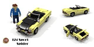 FIAT 124 Sport Spider (1969)