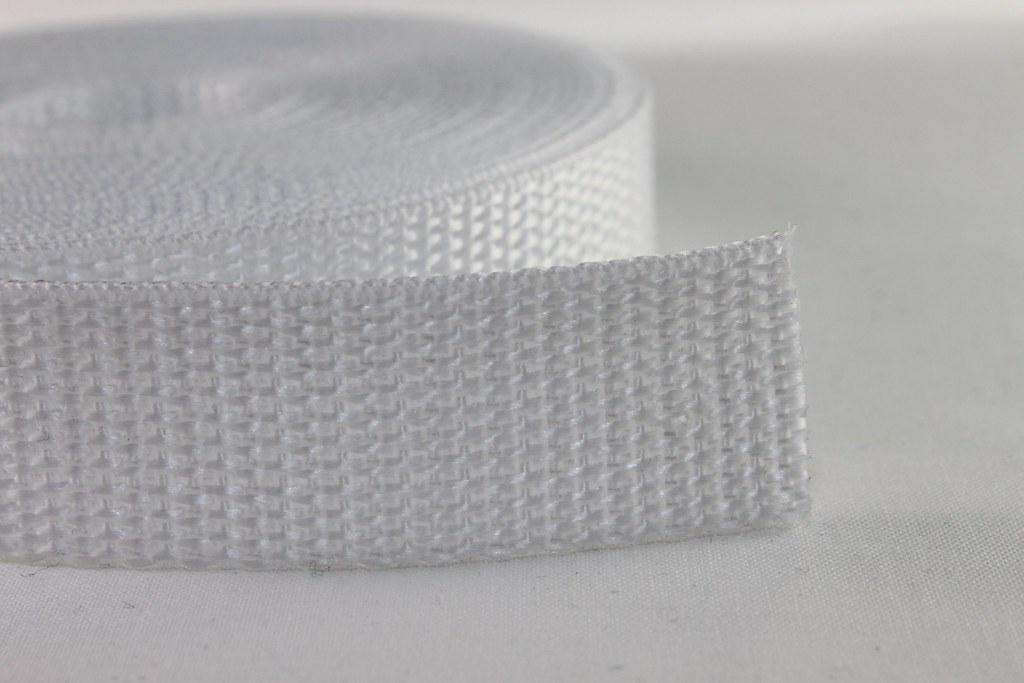 Gurtband 20mm, weiß