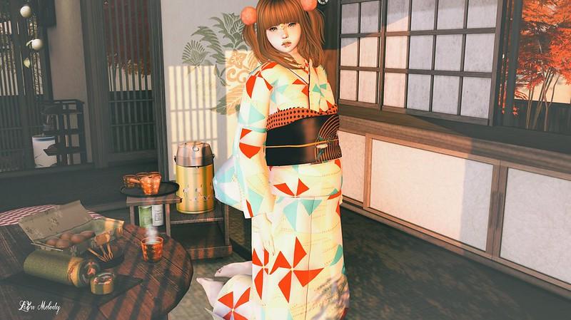 #23 !1mm*** kimono2016 kazaguruma yellow@CCB