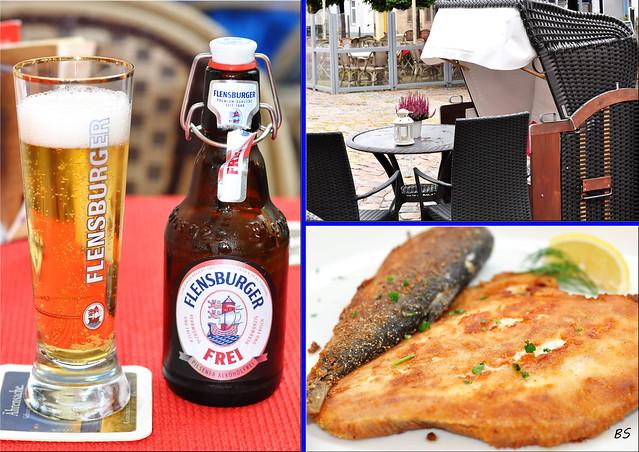 Schleswig-Holstein - Schleswig am Ostseefjord Schlei - Fischspezialitäten - Cafés - malerisches Stadtzentrum - Fotos und Collagen: Brigitte Stolle, September 2016