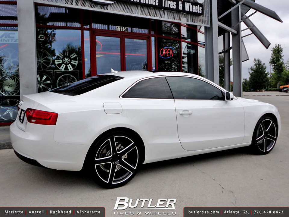 Audi A5 With 20in Tsw Rivage Wheels Additional Picture