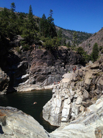 Explore The Outdoors Of Emerald Pools At Yuba River Flickr