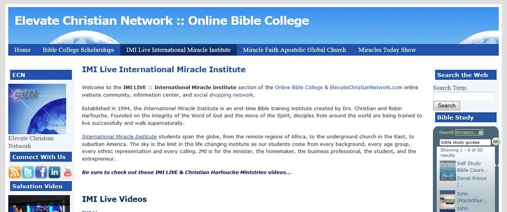 College Online: Free Bible College Online