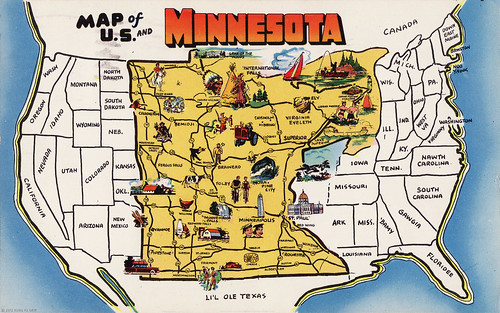 The Big Minnesota Map! | by Kung Fu Grip