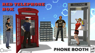 PlayStation Home: Phone Booths | by PlayStation.Blog