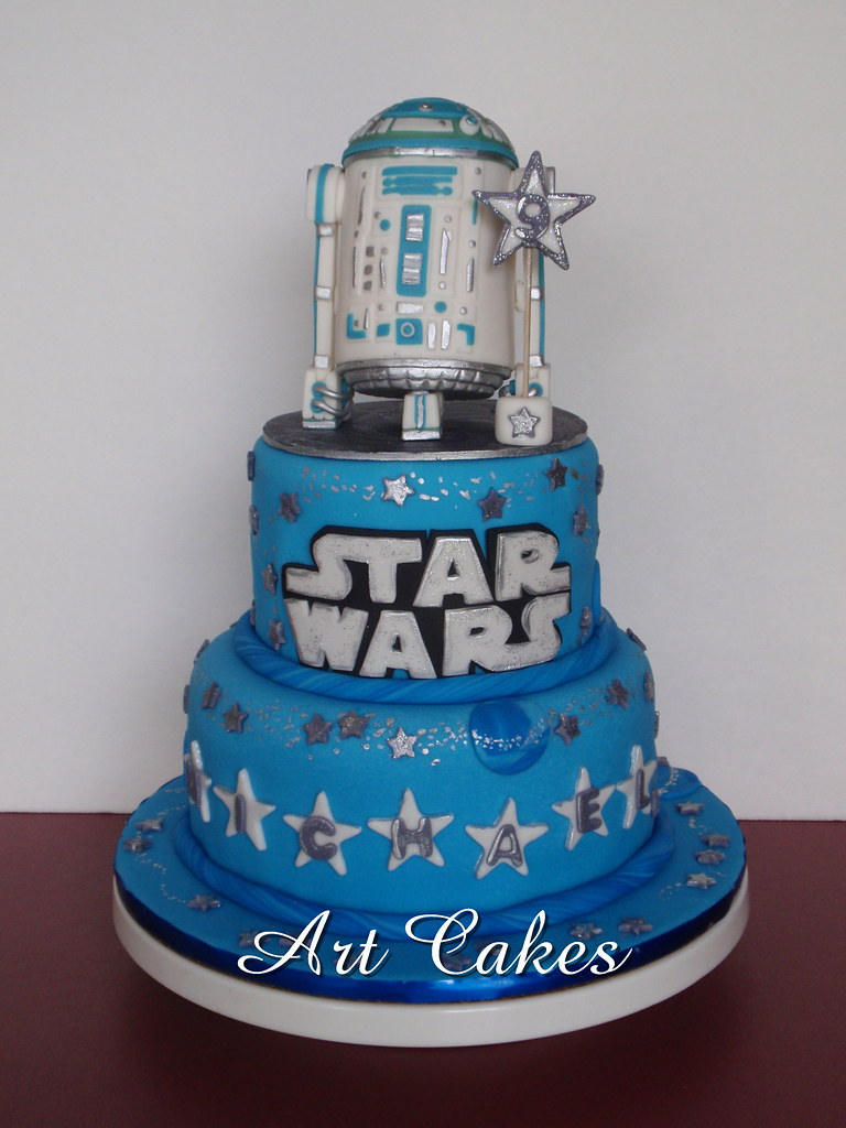 Star Wars Cake Nora Rexach Flickr