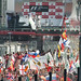 Italian Grand Prix Monza 2012 - Tifosi at the finish