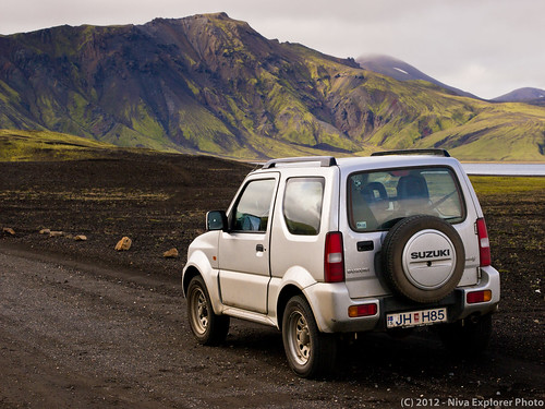 In our way to Landmannalaugar | by Niva Explorer