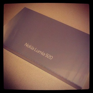 Woah... A special delivery from @nokia and @nokiaconnects sweet! #lumia920 | by @gletham GIS, Social, Mobile Tech Images