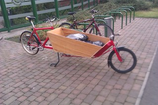 Cargo Bike At Work | by KarlOnSea