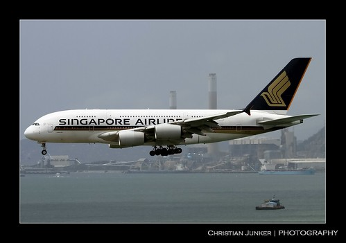 A380-841 | Singapore Airlines | 9V-SKF | HKG | by Christian Junker | Photography