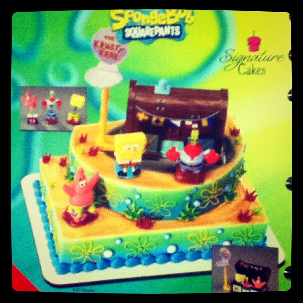 Spongebob Krusty Krab Birthday Cake That You Can Custom Or Flickr