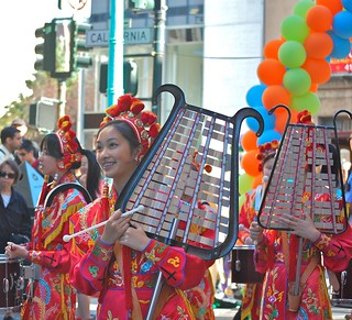St. Mary's Girls Glockenspiel, Autumn Moon Festival, Chinatown, SF | by David McSpadden