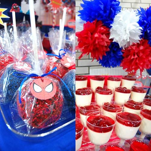 Xavi's The Amazing Spiderman Dessert Table!