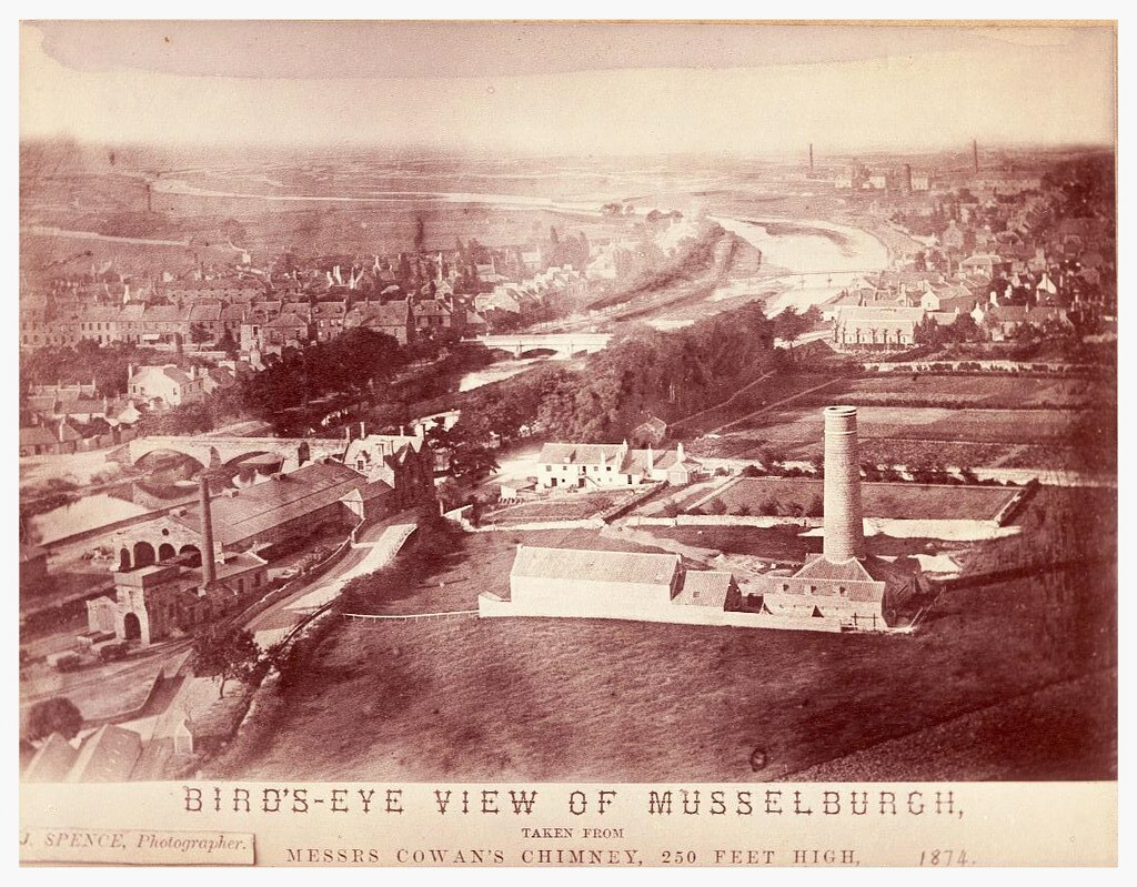 aerial view of musselburgh 1874 recently came by this