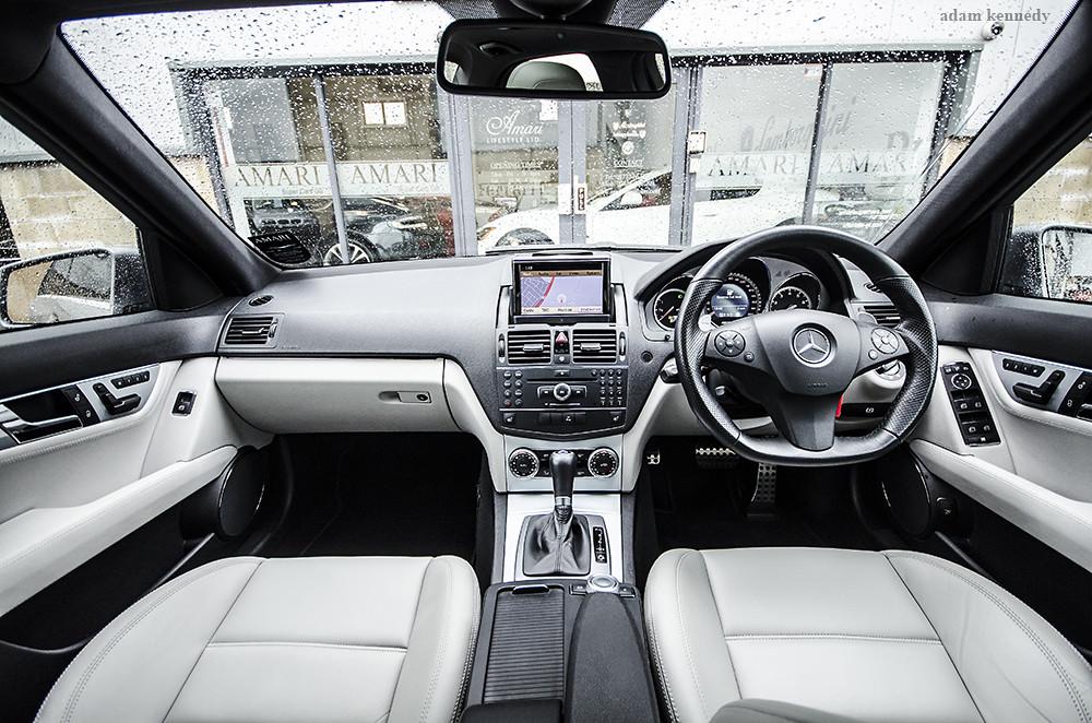 C63 AMG Interior | Mercedes-Benz C63 AMG interior shot | Adam ...