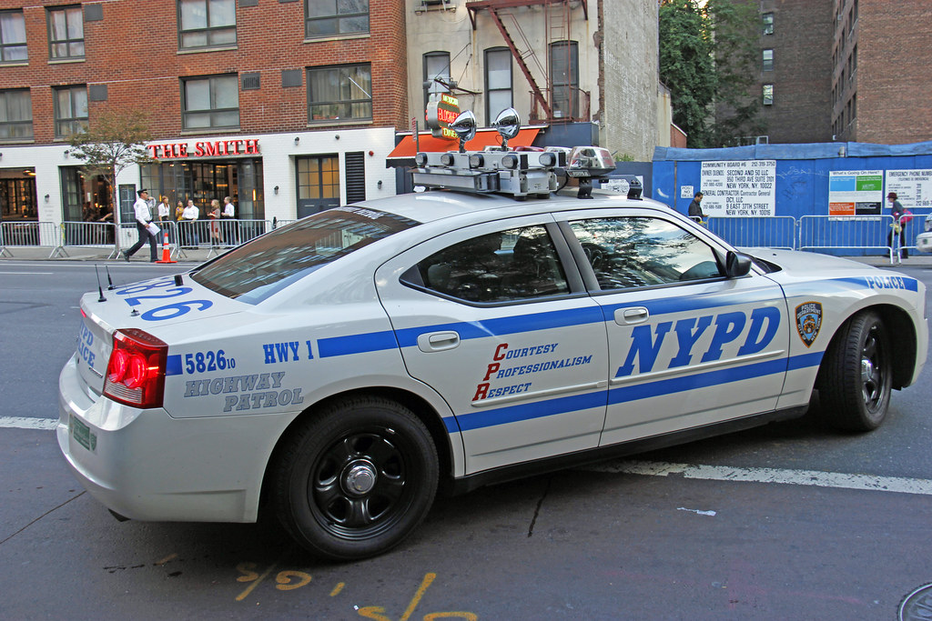 Picture Of Nypd 2010 Dodge Charger Hwy 1 Car 5826 10