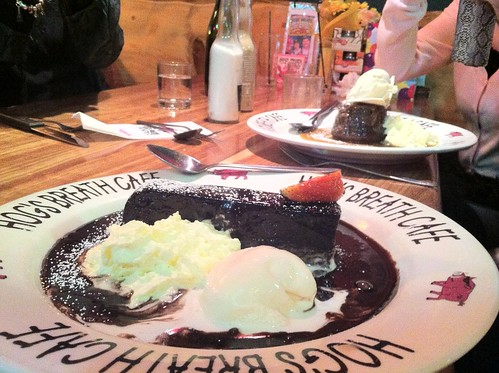 Sticky Date Cake With Butterscotch Sauce