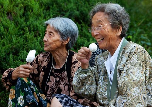 North Korean Friends Enjoying Ice Cream | by Constantine Savvides
