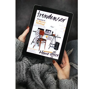 Interview & House Tour for Trendenser | by AMM blog