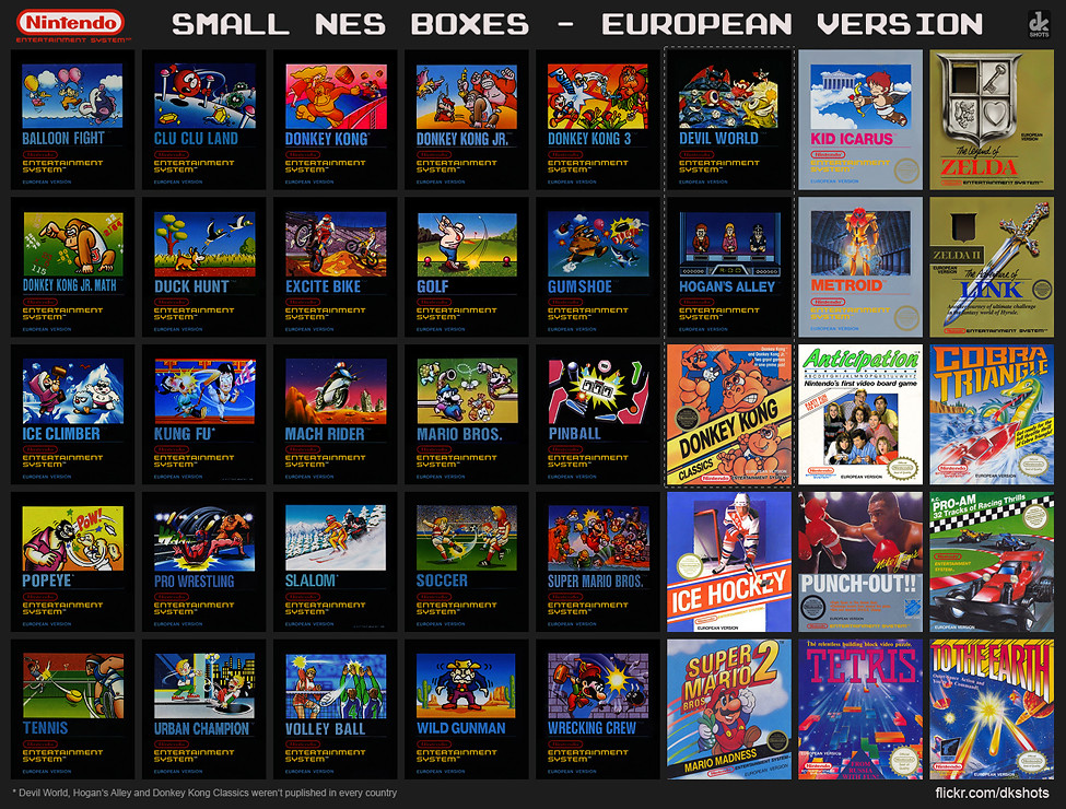 nintendo entertainment system european version small box flickr. Black Bedroom Furniture Sets. Home Design Ideas