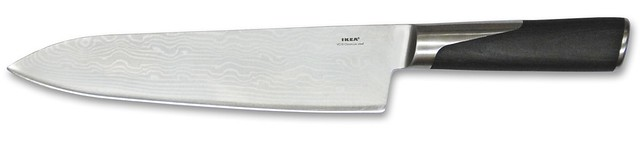 ikea slitbar demascus clad knife flickr photo sharing. Black Bedroom Furniture Sets. Home Design Ideas