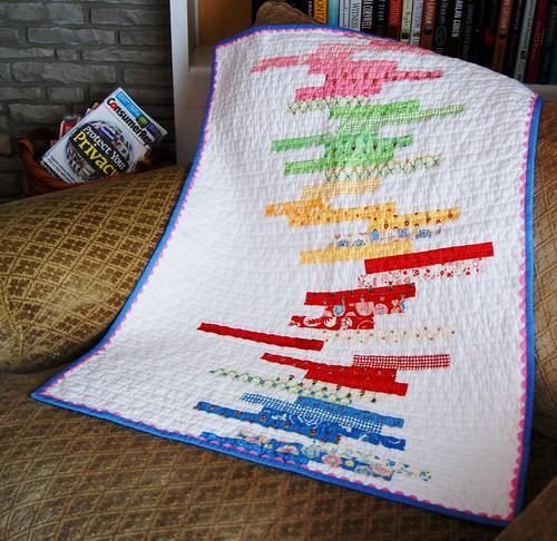 Line Art Quilt Kit : Baby quilt line art sandy bradley flickr