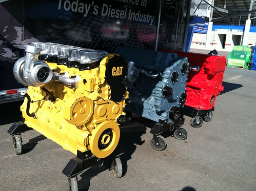 Couple engines at PDI booth to show aftermarket products | by todd_dills