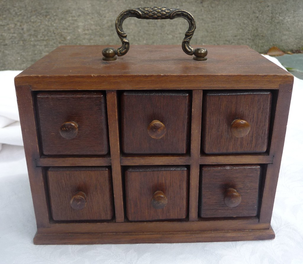 Antique Wooden Jewelry Boxes