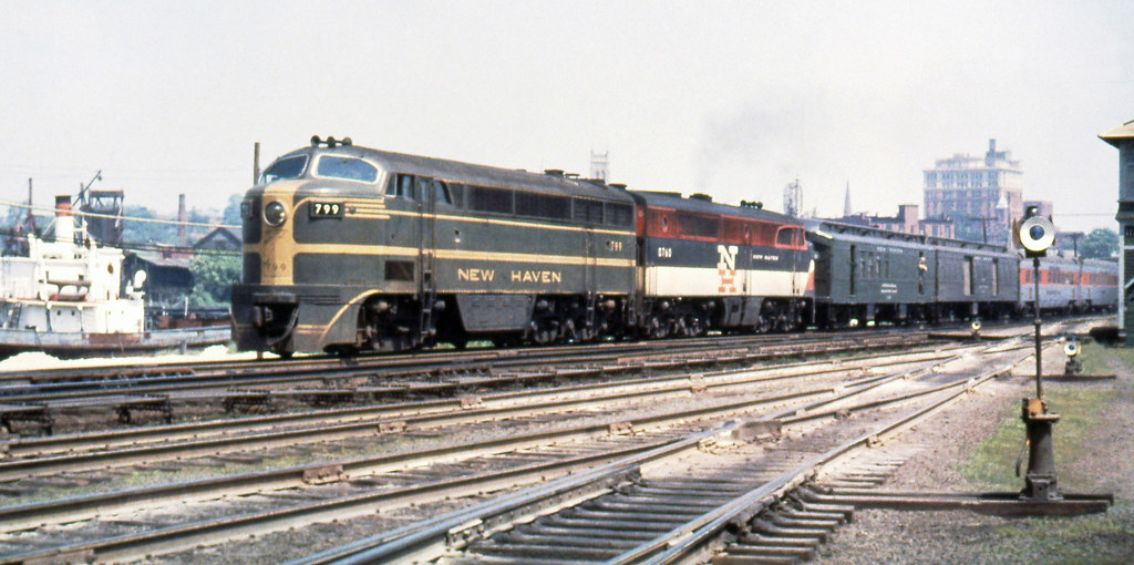 New Haven Railroad Der 4 Fm Cpa 24 5 Locomotive 799 Alon
