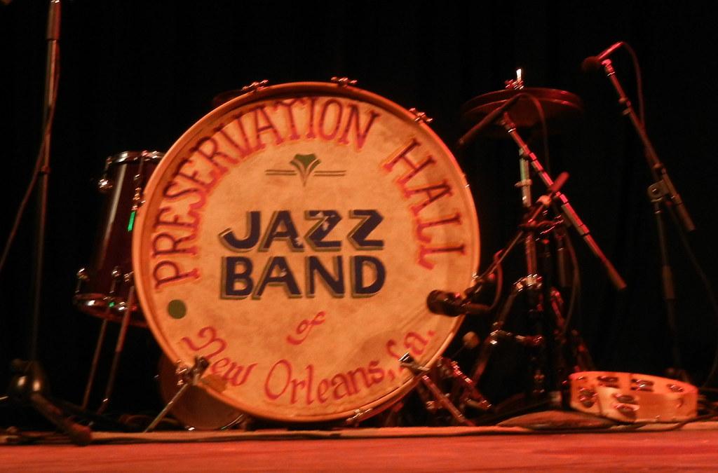 Preservation Hall Jazz Band Drum Set Rik Panganiban Flickr