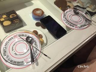 CIRCLEG 香港 火炭 笠笠咖啡 拉花 CAFE 2D 3D 海綿寶寶 遊記 (10)