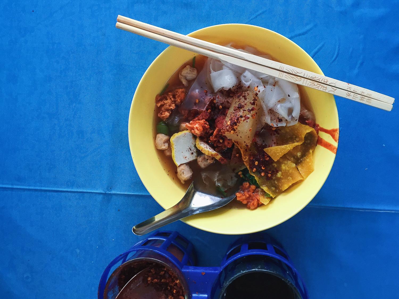 Yen Ta Fo Noodle Soup