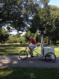 Google street view tricycle in Prospect Park! | by ranjit