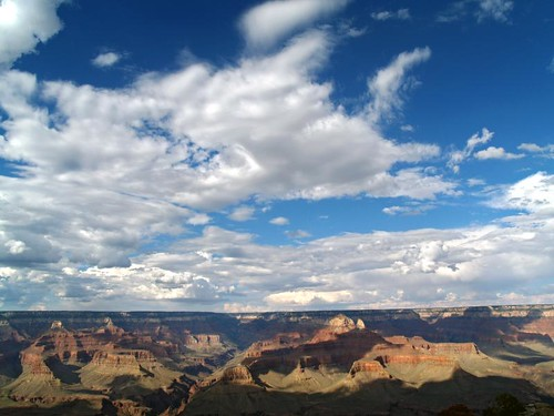 grand canyon clouds | by paul heaston