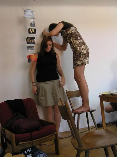 Tall women admirers