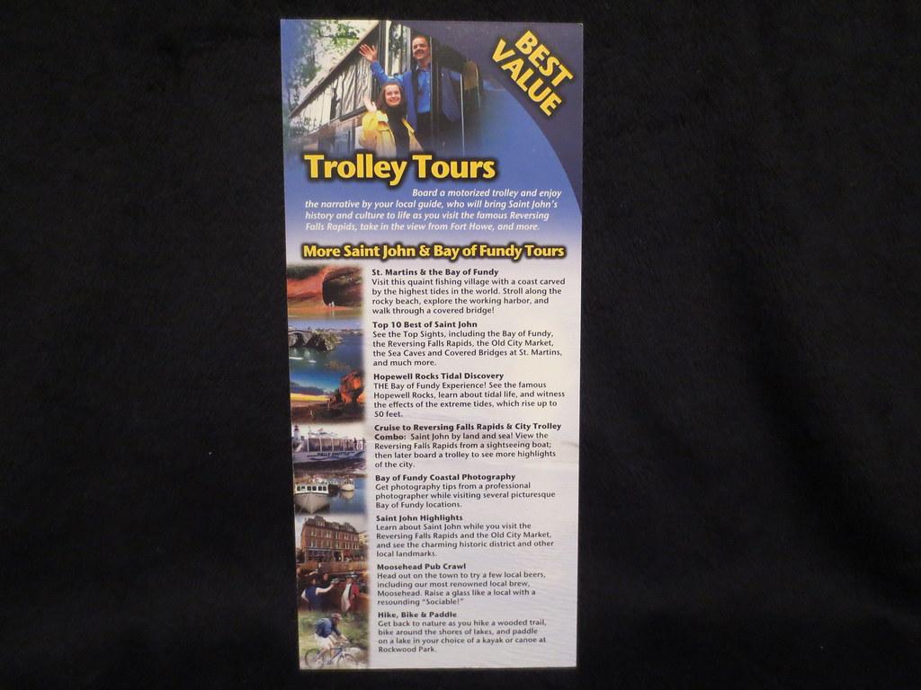 Trolley Tours Saint John New Brunswick Canada The