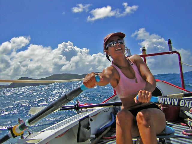 Rowing Across the Atlantic Ocean