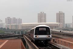 SMRT Jurong NS Line arrival