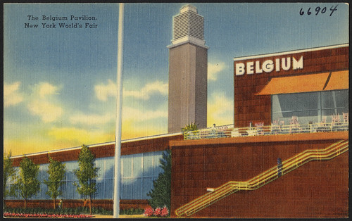 The Belgium Pavilion, New York World's Fair | by Boston Public Library
