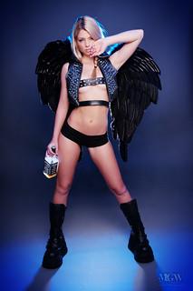 Caitlin Hix - dark angel | by MGW Photography